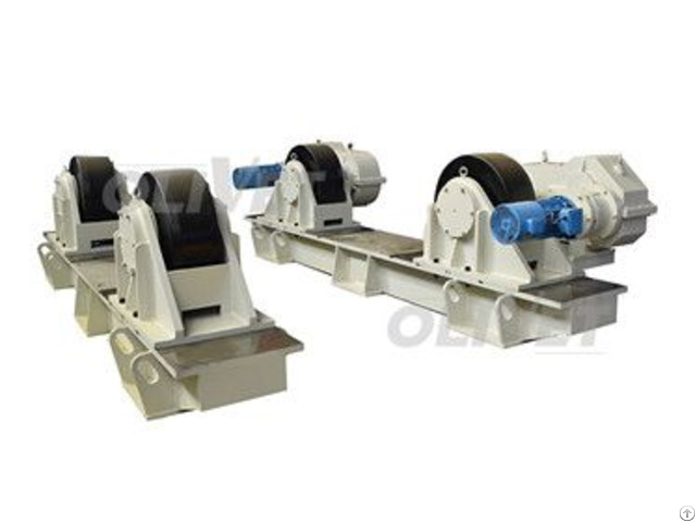 200t Capacity Adjustable Turning Rolls