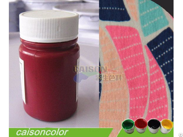 Caison Brand Water Based Pigment Paste For Textile Printing