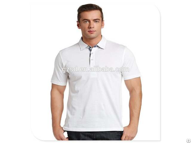 Igh Quality Customized Plain Dyed Men S Polo Shirt