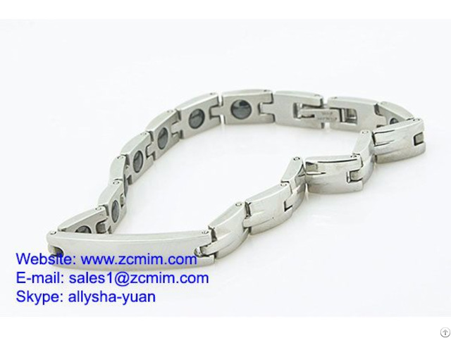 Oem Watch Band Clasps Polish Electroplate Brush Blasted