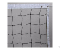 Pe Volleyball Net With Weaving Tape Band