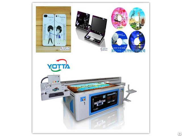 Digital Cell Phone Case Flatbed Uv Printer