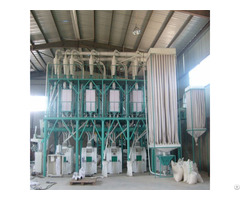High Quality Of 50t Per 2h Maize Mill Machine