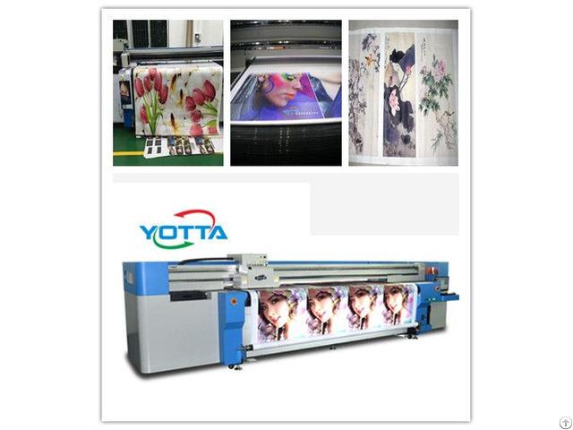 High Resolution Eco Outdoor Advertising Printer