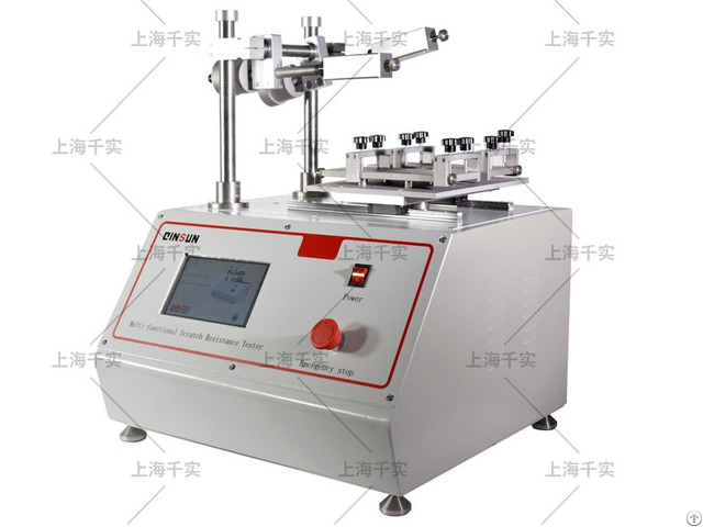 Abrasion And Wear Testing Machine With Rotary Platform