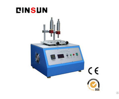 Alcohol Rubbing Testing Equipment For All Types Of Plastic Injection Products