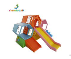 Kids Soft Play Amusement Park Equipment Climbing Slide