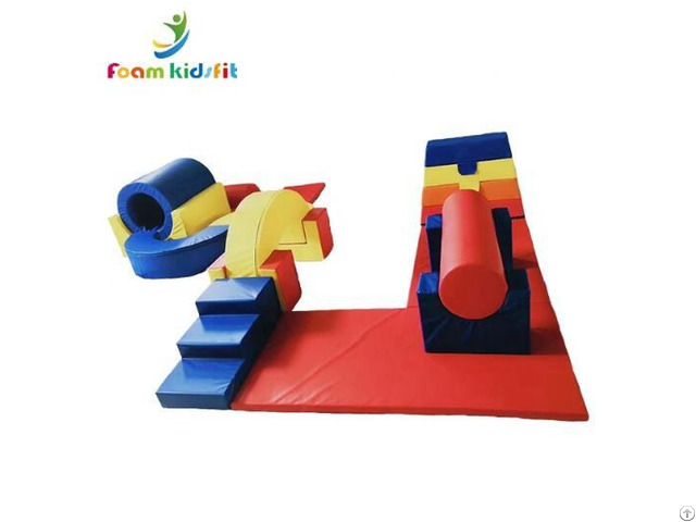 Eco Friendly Toddler Kids Soft Play Climbing Slide Toys
