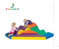 New Design Sets Of Toddler Foam Soft Play Sensory Climbing Area Toys Indoor Playground
