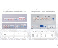 Silica Gel Drying Capsule