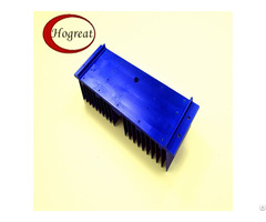 Purple Industry Extrusion Aluminum Heat Sink With Good Quality
