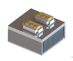 Tower Shape Combined Extrusion Aluminum Profile Heat Sink