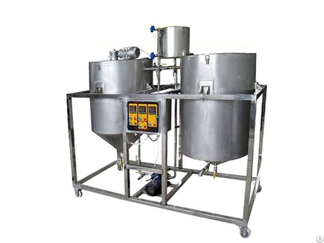 Guangxin 1000kgs D Edible Sunflower Cooking Oil Refining Machine