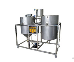 Guangxin 1000kgs D Edible Sunflower Cooking Oil Refining Machine