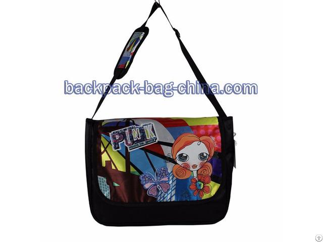 Adjustable Strap School Shoulder Bag