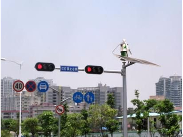 Solar Traffic Light Mac Stl025