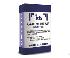 Ca 007 H High Strength Non Shrink Grout