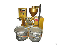 Labor Saving Auto Temperature Control Combined Oil Press With Vacuum Filter