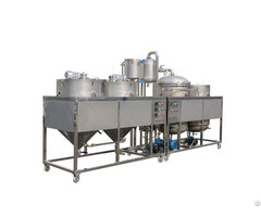 Guangxin Crude Vegetable Oil Refinery Machine