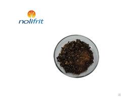 Cookware Pan Pot Majolica Brown Cast Iron Enamel Frit 301a