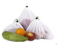 Friendly Grocery Shopping Mesh Produce Bags For Fruit And Vegetable
