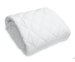 Waterproof Quilted Cotton Mattress Pads Toppers