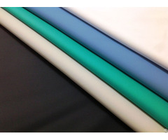 Waterproof Wipe Clean Pu Coated Fabric For Medical Mattress Aprons And Adult Bibs