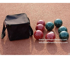 Supply Resin Bocce Ball In 110mm For Outdoor Game