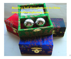 Sell Chinese Meditation Health Baoding Ball In Silver Color