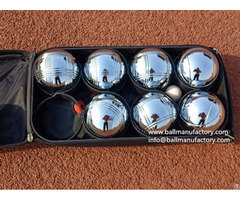Supply Metal Boules Sets Petanque Ball For Leisure