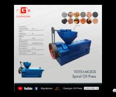 Yzyx140cjgx Sunflower Seed Peanut Screw Oil Press Machine