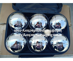 Supply Petanque Petank Boules Sets 6 Ball For Garden Game