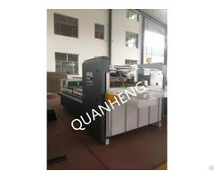 Qh Manual Corrugated Cardboard Folder Gluer Machine