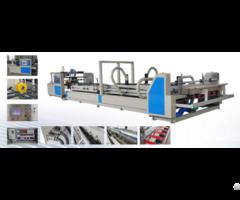 Qh Corrugated Cardboard Automatic Folder Gluer Machine