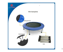 Createfun Wholesale Indoor Bouncing 40 Inch Trampoline For Adults