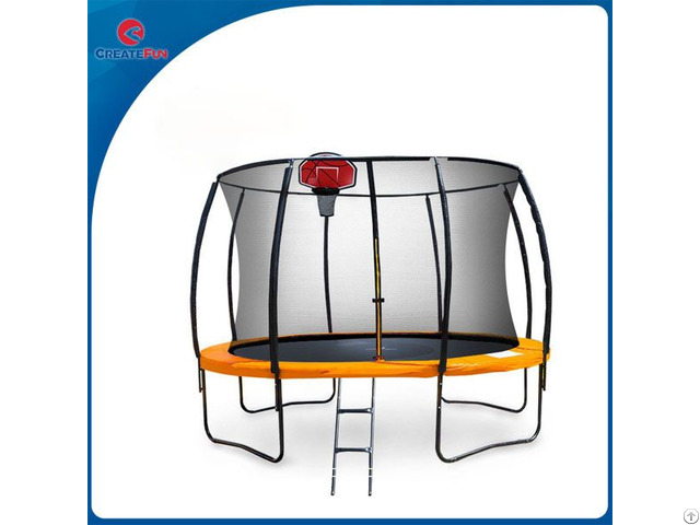 Createfun Trampoline For Rent With Top Ring Enclosure System