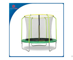Createfun Fiber Glass Trampoline Outdoor