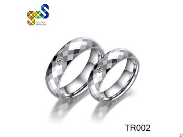 Tungsten Couple Ring Design For Wedding Bands