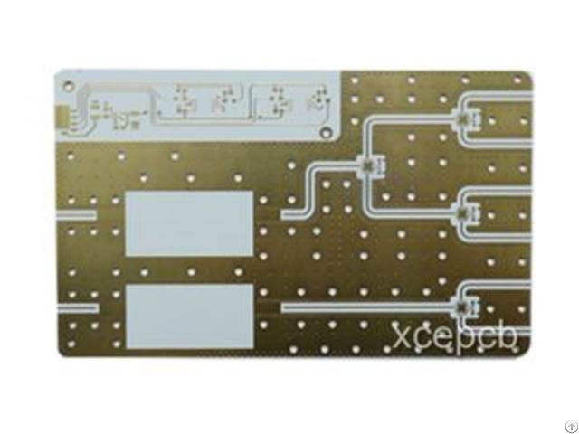 Immersion Gold Rogers Pcb Rigid Printed Circuit Board Fabrication