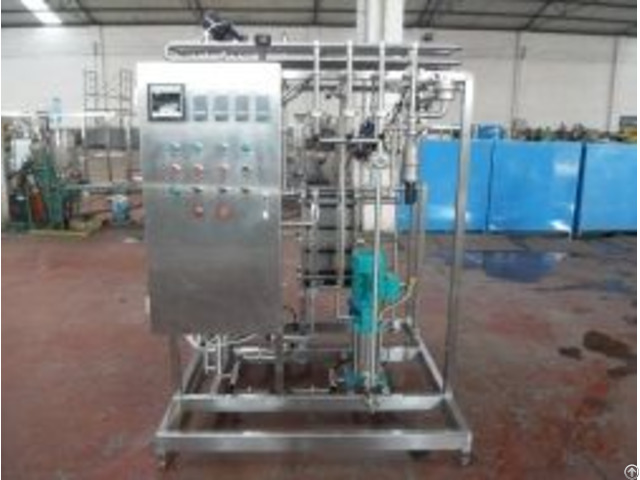 Uht Flush Pasteurizer