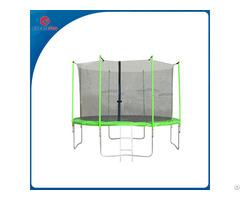 Createfun Cheap 12ft Trampoline With Enclosure