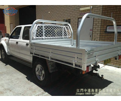 Aluminium 4x4 Car Accessories Truck Tray Body For Camper