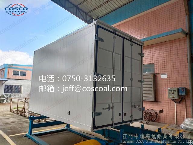 Aluminium Heavy Duty Van Truck Body For Transportation