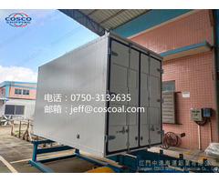 Aluminium Heavy Duty Van Truck Body For Transportation