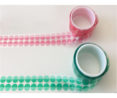 High Temperature Green Pet Tape Made With Polyester