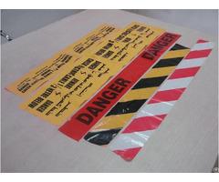 Non Adhesive Warning Tape