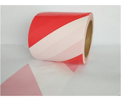 White Underground Detectable Pe Warning Tape