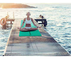 Custom Design Pu Top Rubber Yoga Mats Manufacturer