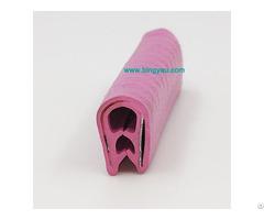Sharp Metal Edge Trim Pvc Plastic U Shape Black Protector China