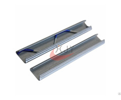 Galvanized Steel Greenhouse Film Lock Channel Different Thickness